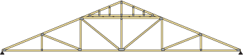 multi-piece or piggyback truss